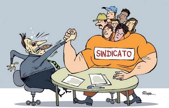 PELA VALORIZAÇÃO DOS SINDICATOS!
