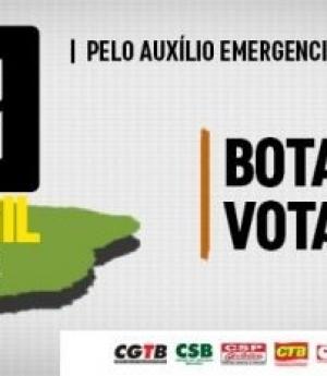 Abaixo-assinado cobra de Rodrigo Maia votação imediata do auxílio emergencial